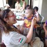 Orvoscsapatunk a fülöp-szigeteki katasztrófa után